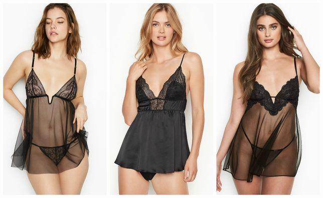 Пеньюар и трусики Victorias Secret сексуальный комплект оригинал бренд