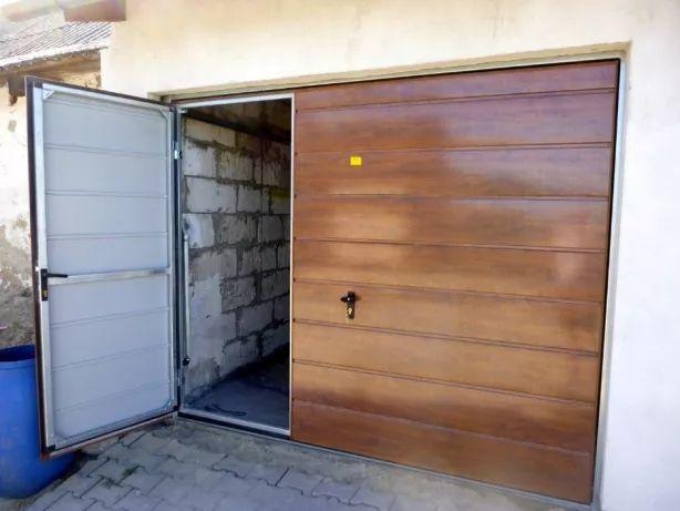 Brama garażowa na wymiar Brama do garażu Bramy garażowe PRODUCENT BRAM