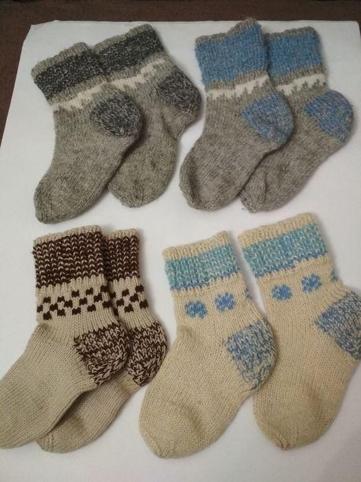 Носки теплые вязанные Київ - зображення 1
