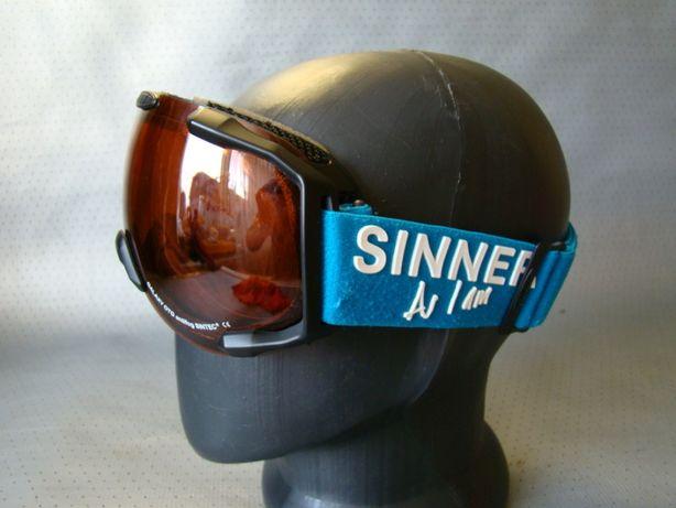 детск Большая лыжная маска очки SINNER Оригинал!