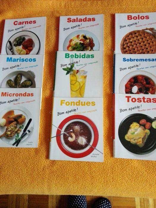 Livros receitas de culinária Santo António da Charneca - imagem 1