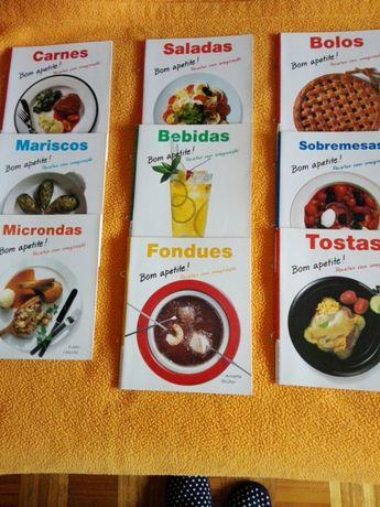 Livros receitas de culinária