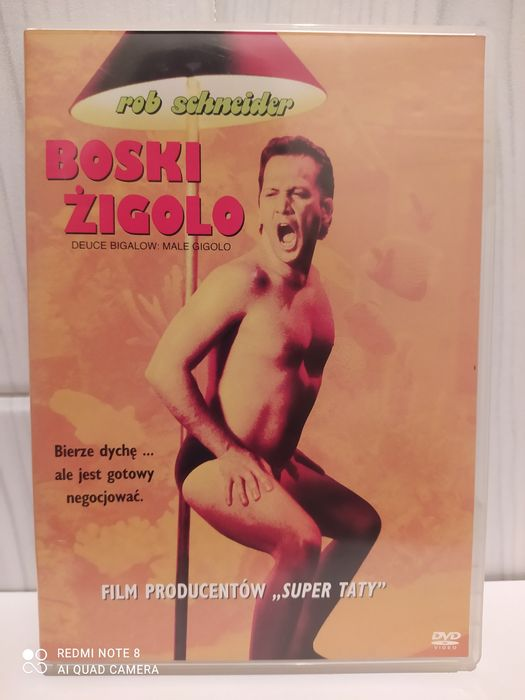 Film dvd Boski Żigolo -napisy PL Katowice - image 1