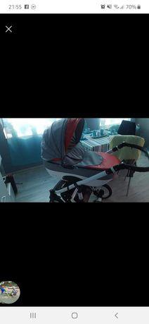 Wózek 2w1 Adbor gondola+spacerówka