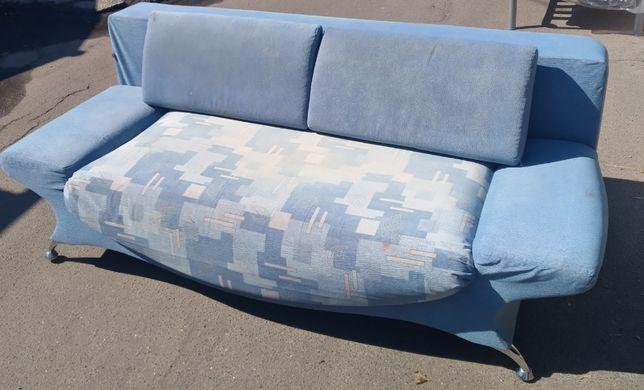 Продам мягкий диван с креслом, Мебель БУ