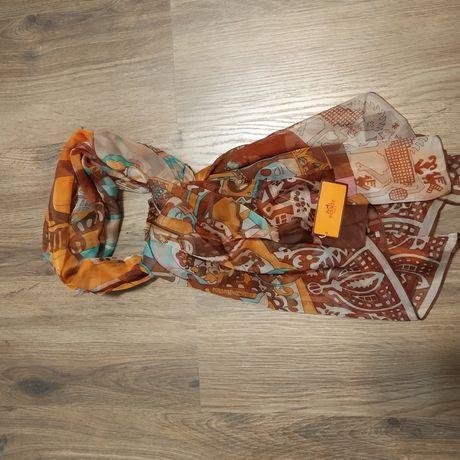 Платок шаль шарф аналог Hermes