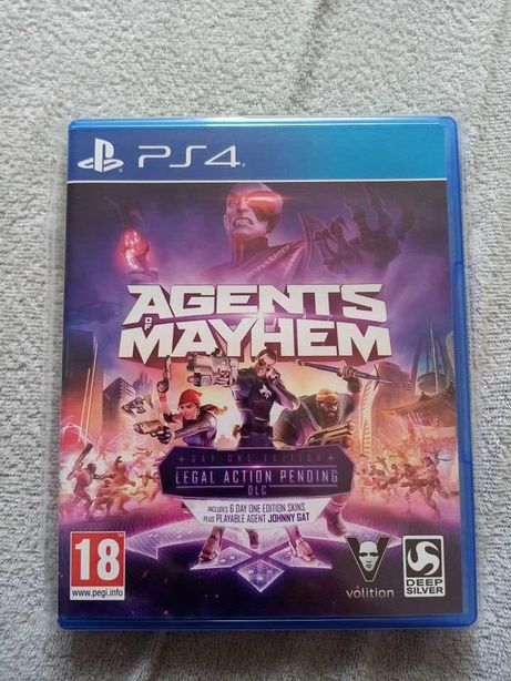Agents of mayhem gra playstation 4 ps4 pro