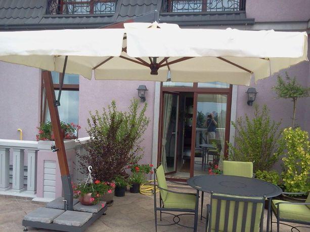 Консольный террасный зонт 3х3 м Италия