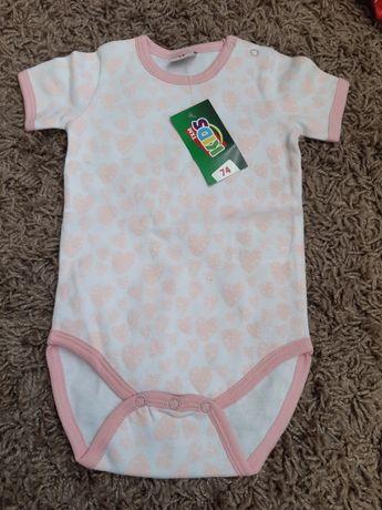Nowe Body niemowlęce  74cm