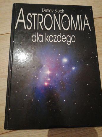 Książka Astronomia dla każdego, Detlev Block