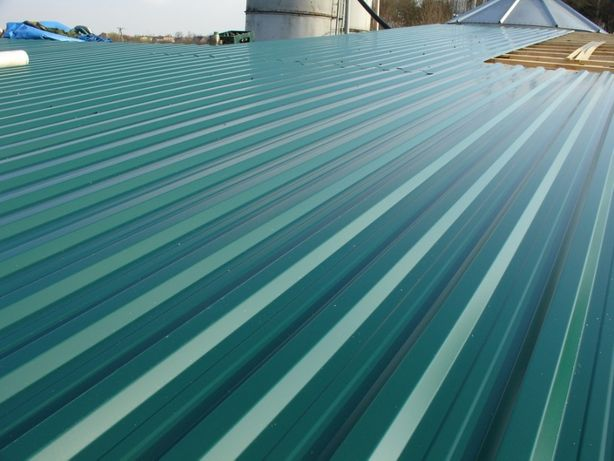 Blacha trapezowa st 18 kolor zielony idealna na dach wiatę garaż