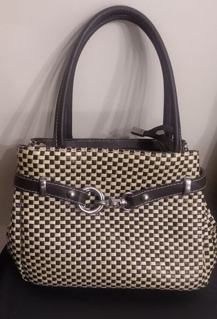 OKAZJA elegancka torebka Genuine Leather