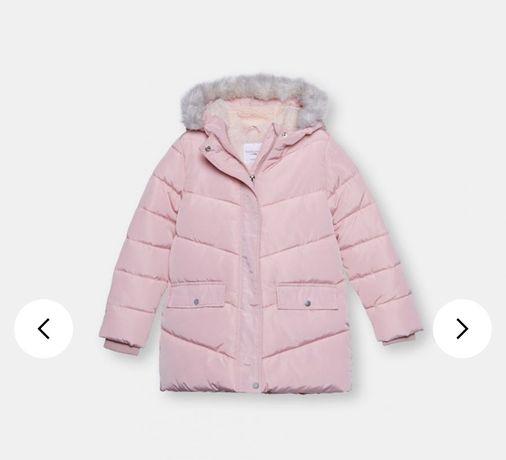 Курточка новая зимняя на р.134-140