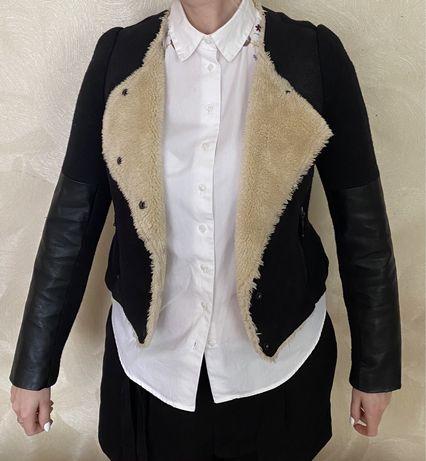 80 грн. Дубленка, утепленная куртка. ZARA