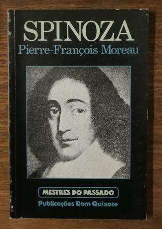 spinoza, pierre-françois moreau, mestres do passado, dom quixote