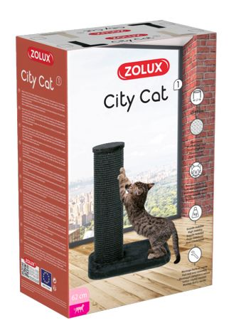 ZOLUX Drapak dla kota CITY CAT 1 czarny 47x39x62 DUŻE RASY