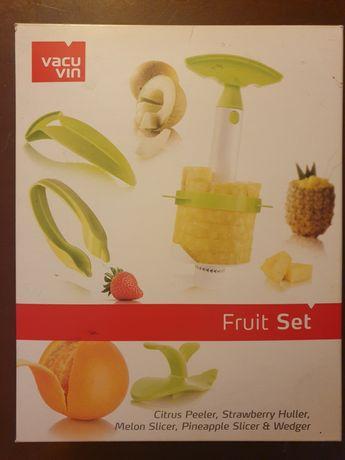 Zestaw do obierania ananasa i melona