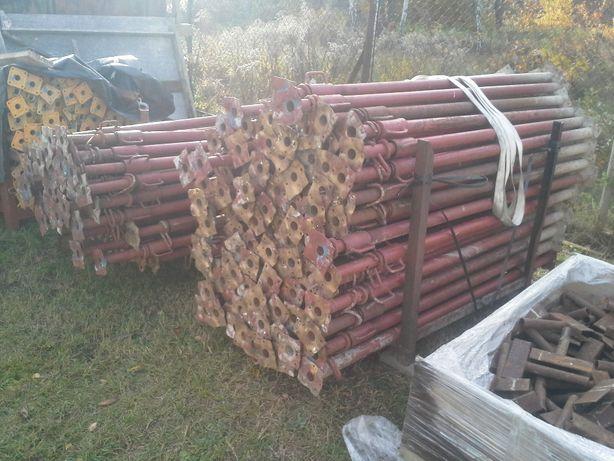 Wypożyczalnia wynajem stempli stemple budowlane regulowane metalowe