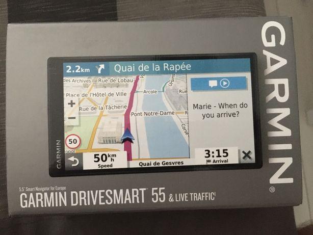 Nawigacja Garmin Drivesmart 55 EU MT-S GPS