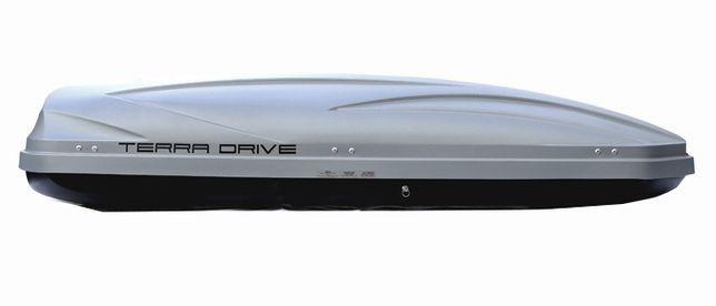 Багажник бокс на крышу авто Terra Drive 500 Thule Turtle Amos Hapro