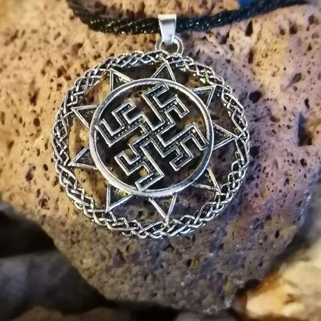 Zawieszka, wisiorek, naszyjnik, symbol słowiański