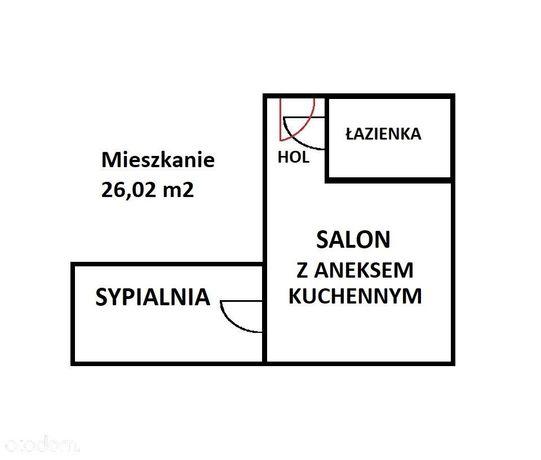 Mieszkanie 2 pokojowe na Powiślu