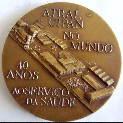 Medalha comemorativa do 40.º aniversário Atral Cipa