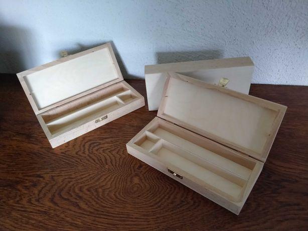 Piórniki drewniane, dla dzieci, na prezent, do szkoły, do decoupage