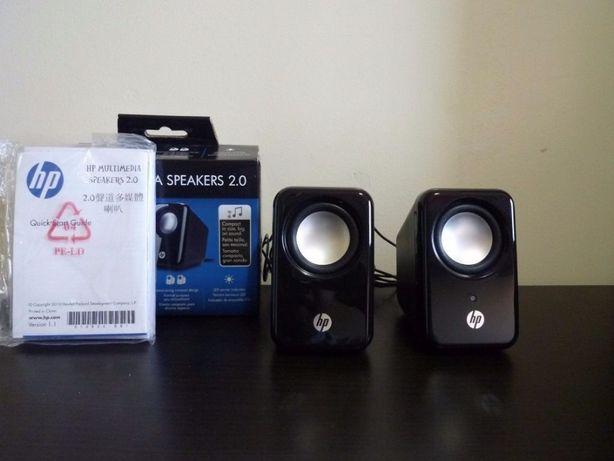 NOWE!!Głośniki do komputera HP Multimedia Speaker 2.0 CZARNE i Białe