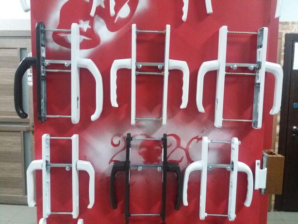Ручки двери нажимний гарнітур вікна