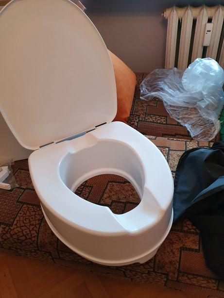 Nakładka na toaletę 15 cm do 225kg