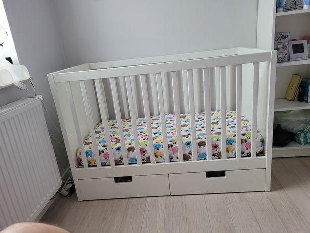 Łóżeczko Ikea Stuva z materacem Fiki Miki