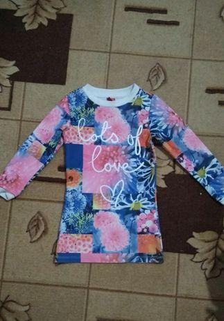 Туніка,плаття на дівчинку( розмір 92-98) + подарунки!!!