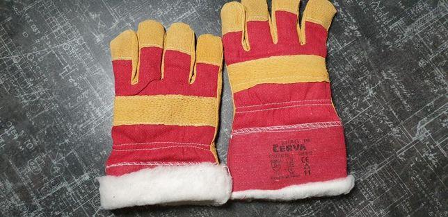 Перчатки, рукавици рабочие утеплённые комбинированые CHERVA SHAG