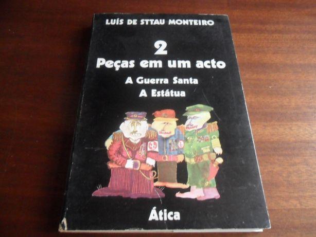 """""""2 Peças em Um Acto"""" A Guerra Santa + A Estátua de Luís Sttau Monteiro"""