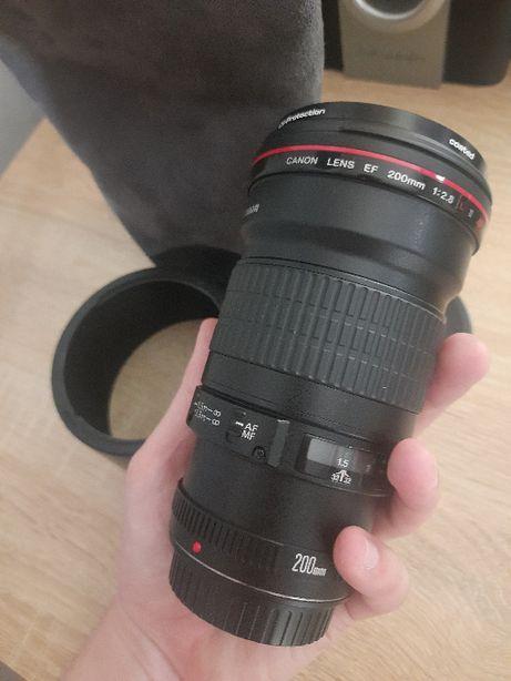 Canon EF 200mm f 2.8L II USM + Фильтр