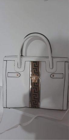 Torebka Versace biała hit okazja przecena
