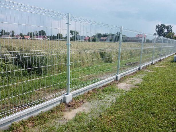 Montaż ogrodzenia panelowego panelowe paneli ogrodzeń siatki