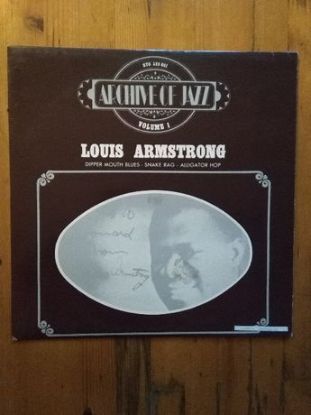 Stary Winyl Louis Armstrong - Archive of Jazz volume 1 ,, 1969rok