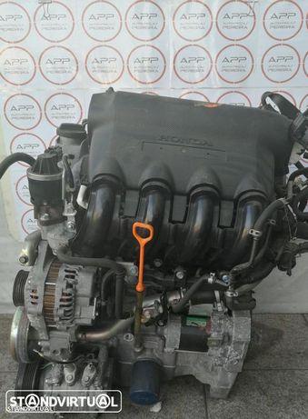 Motor Honda Jazz de 2006 1.3 16V, ref L13A1, aprox 83000kms.