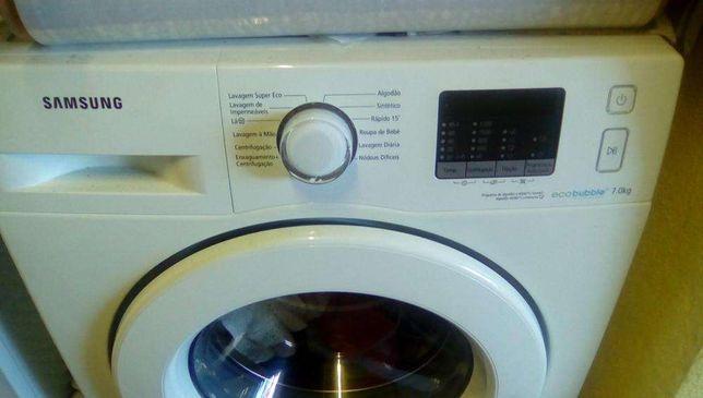maquina lavar roupa samsung ecobuble 8 kg