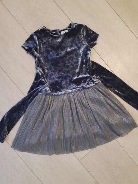 Шикарное платье next 3-4 лет