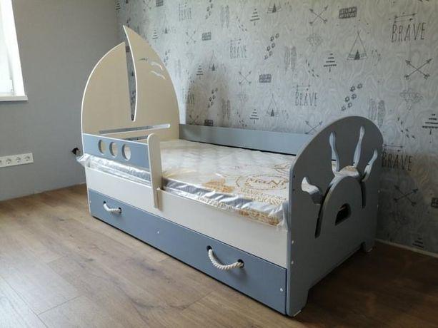 Детская кровать односпальная. Односпальная кровать детская