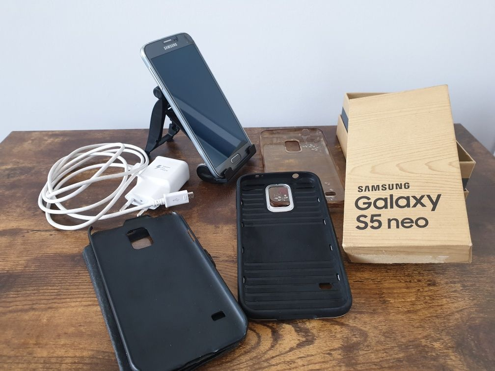 "Super stan! Samsung Galaxy S5 neo G903F RAM2GB/16GB 5,10"" + GRATISY"