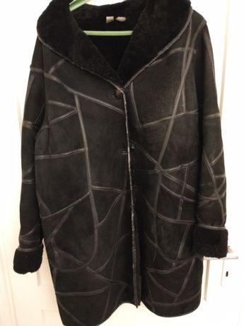 Płaszcz skórzany damski - kożuch - sprzedam