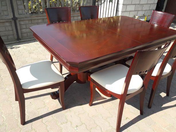 Stół  i krzesla stylowe drewno WYSYLKA