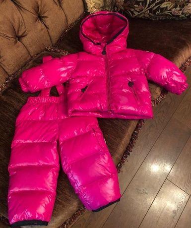 Продам Детский зимний комбинезон Moncler,размер на фото