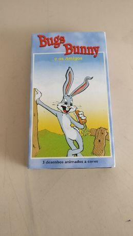 Cassete VHS: Bugs Bunny e os amigos