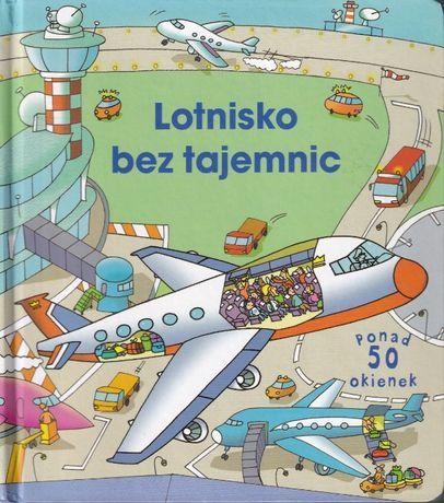 Lotnisko bez tajemnic. Książka z okienkami