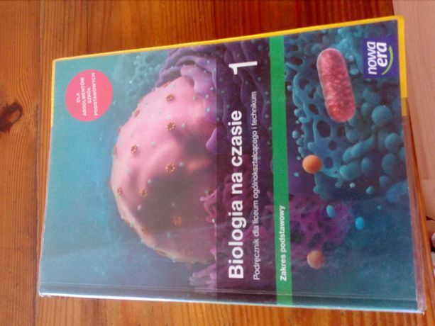 Książka biologia szkoła ponadgimnazjalna